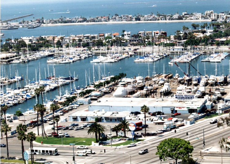 Long Beach Marina Editorial Stock Image - Image: 36353574