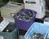 Carters Home Downsizing Recycles Electronics