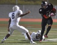 Travis Walters eludes a Buffalo defender