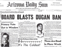 Fifty years ago the Daily Sun was all over Dugan