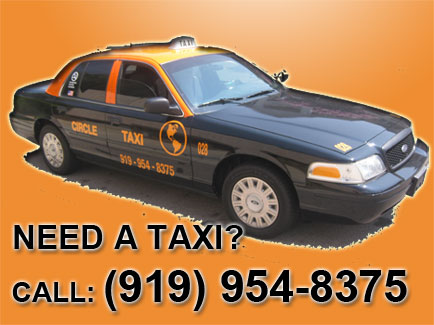 CircleTaxi com: Taxi cab In Raleigh, Cary, Garner, RDU