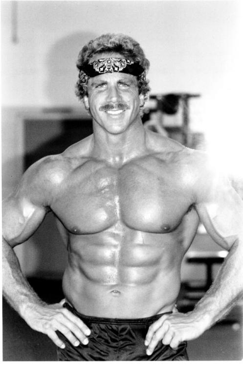Ric Drasin Bodybuilder and Wrestler