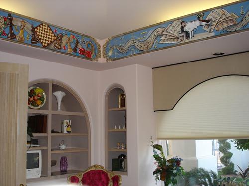 Game Room Murals