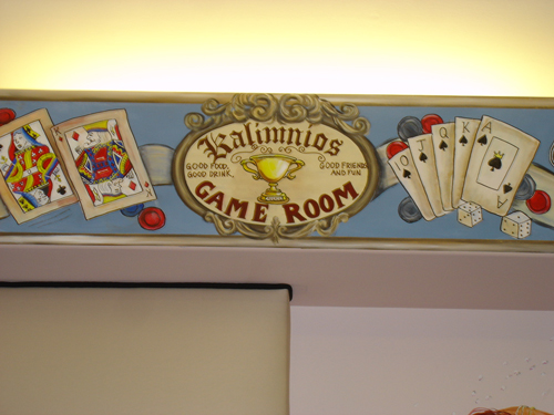 Game Room Murals