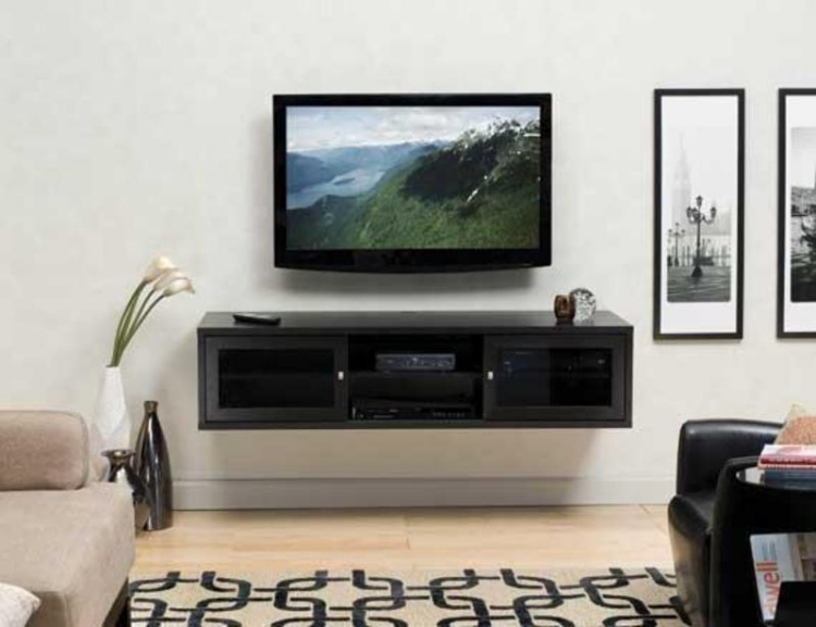 New Wall Hanging Tv Cabinet